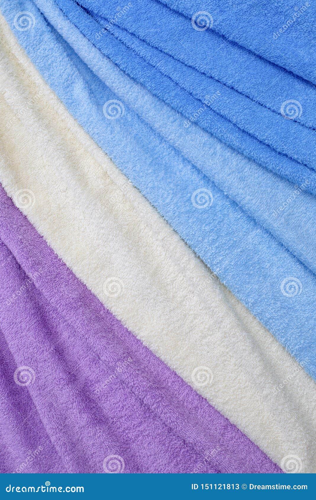 五颜六色的特里纺织品纹理