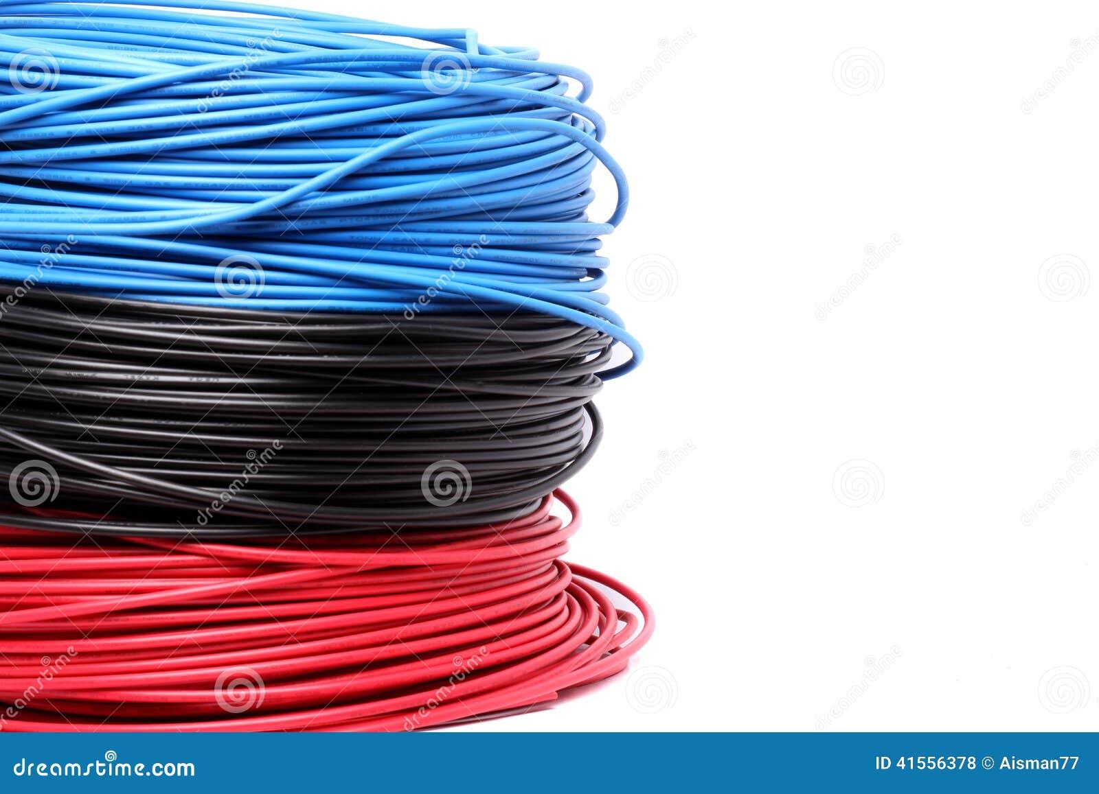 五颜六色的电缆