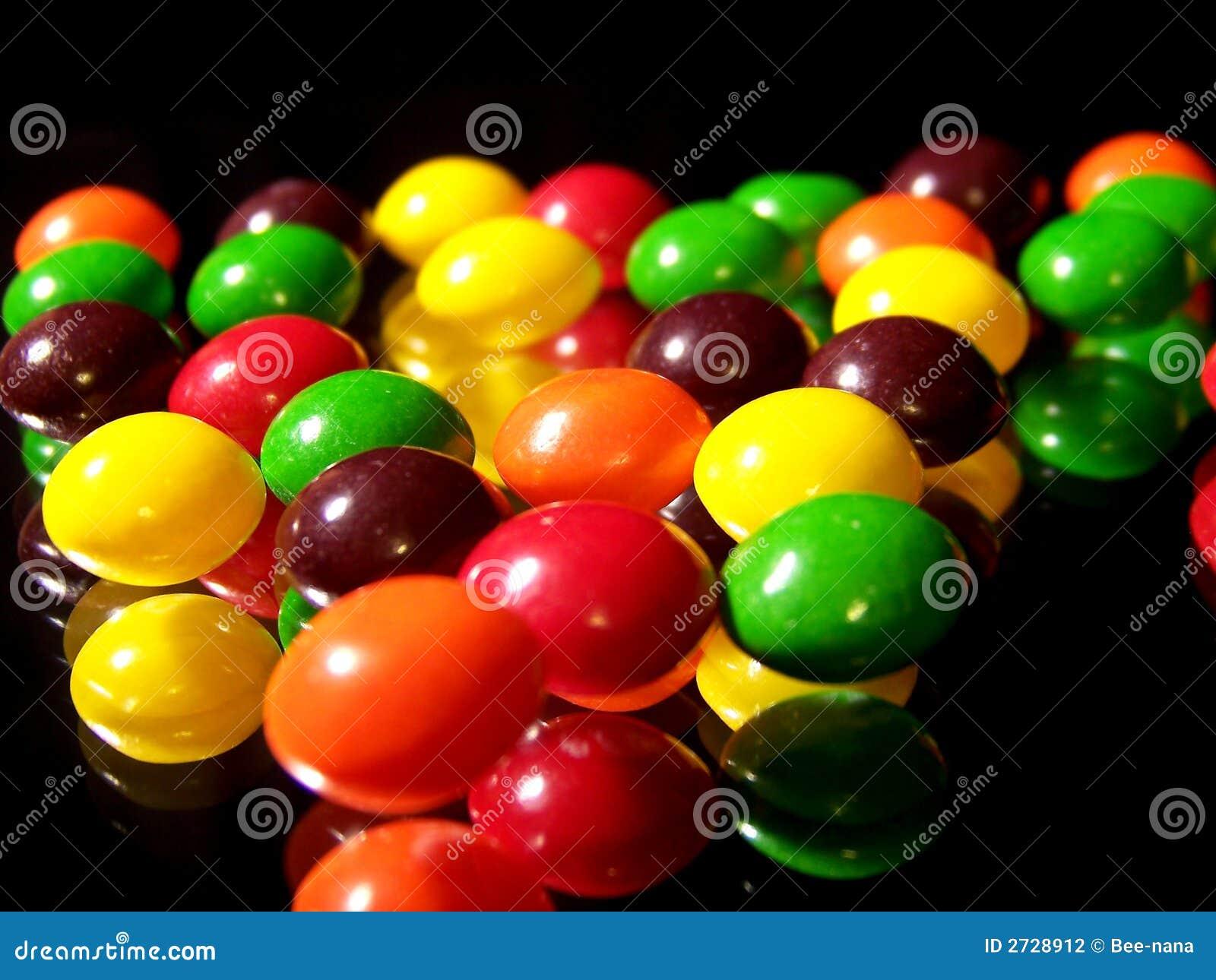 五颜六色的糖果