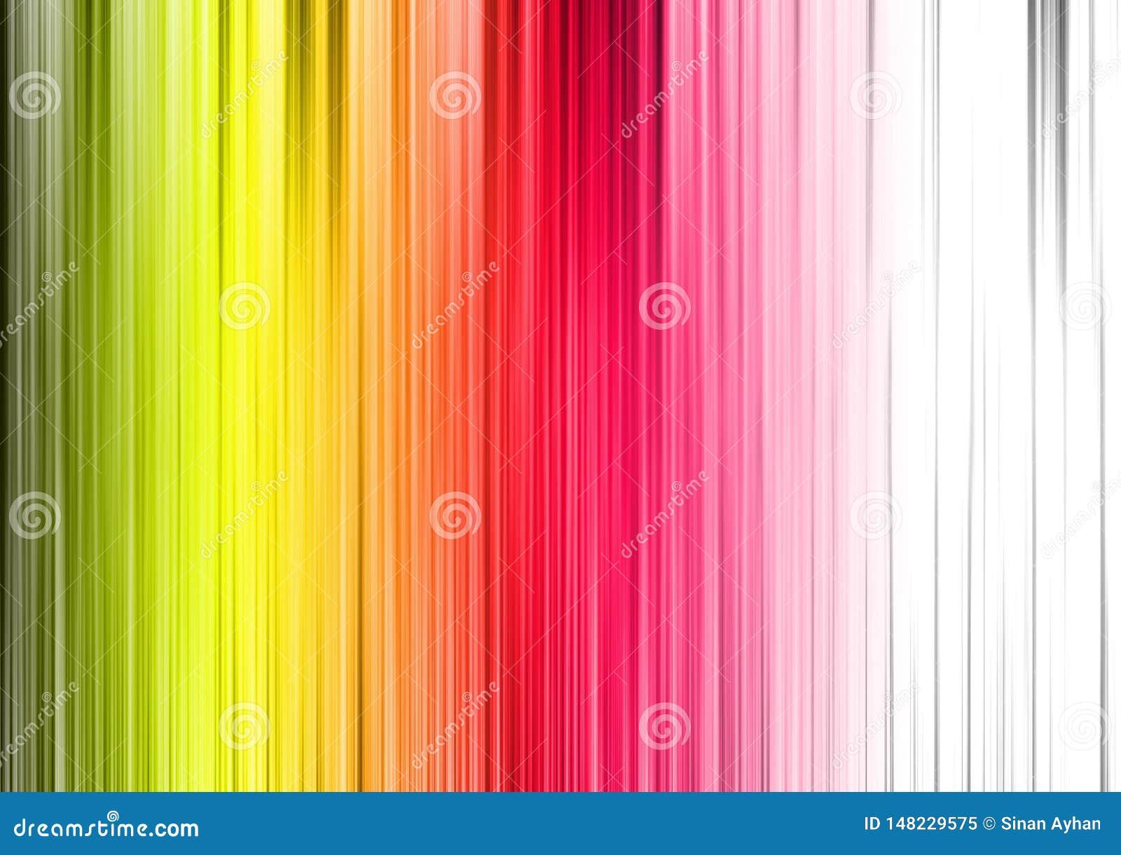 五颜六色的背景样式垂直线