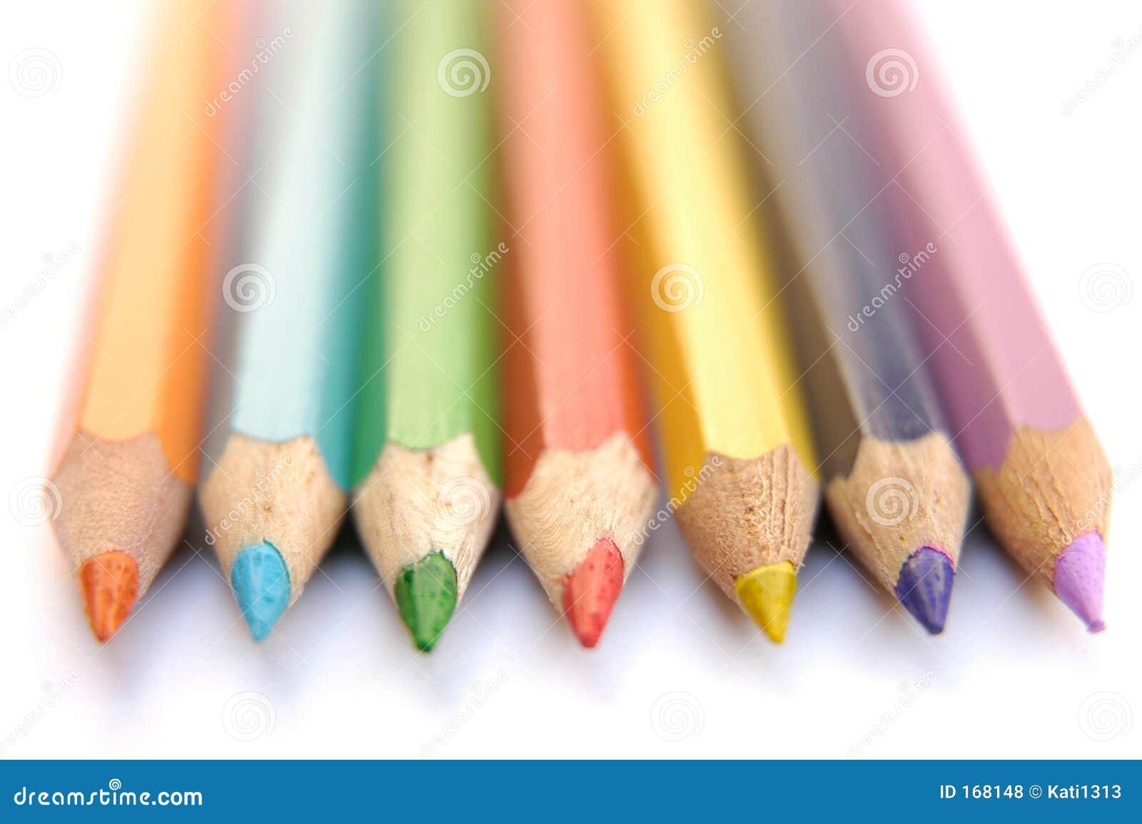 五颜六色的蜡笔iii