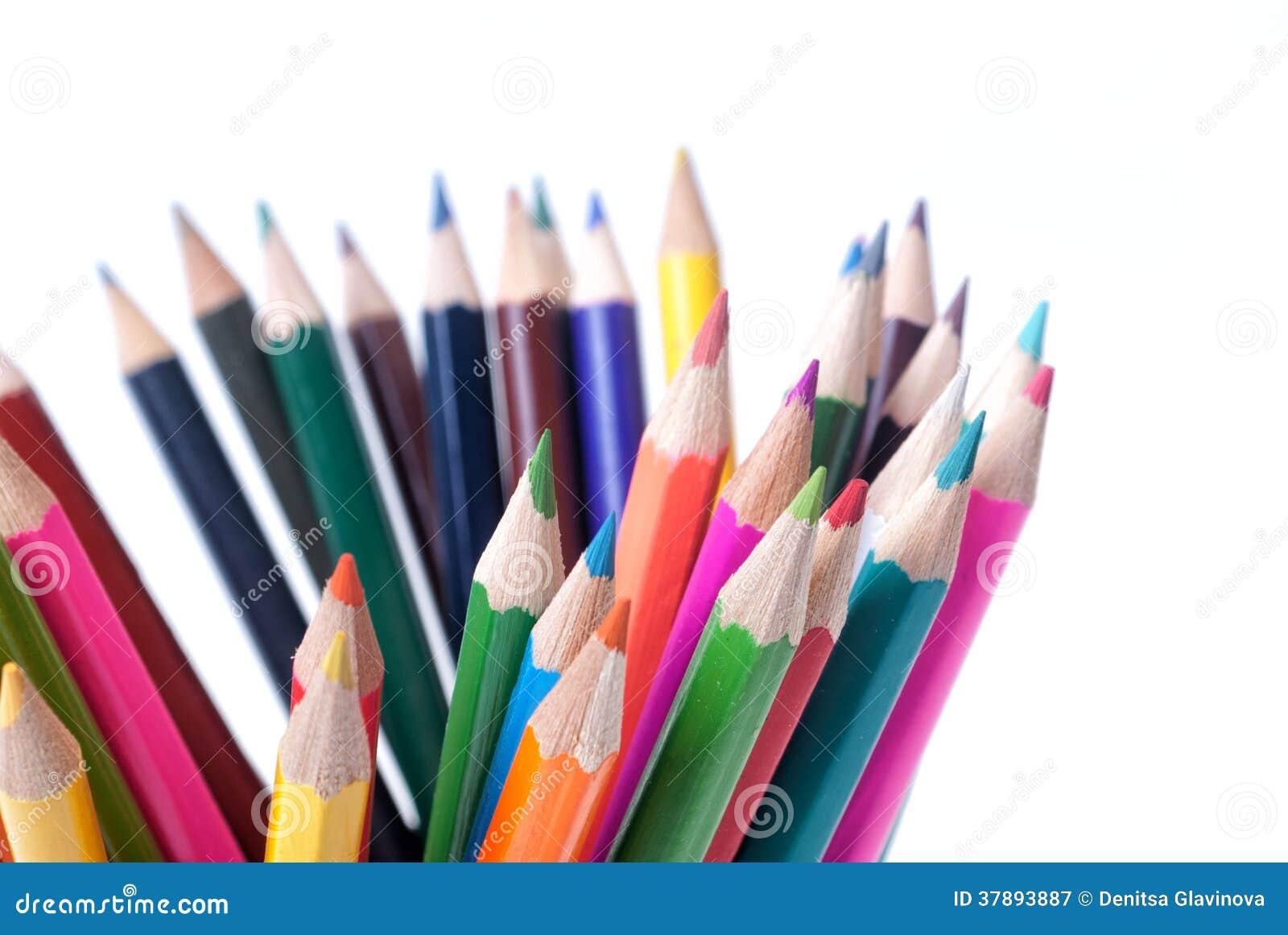 五颜六色的铅笔
