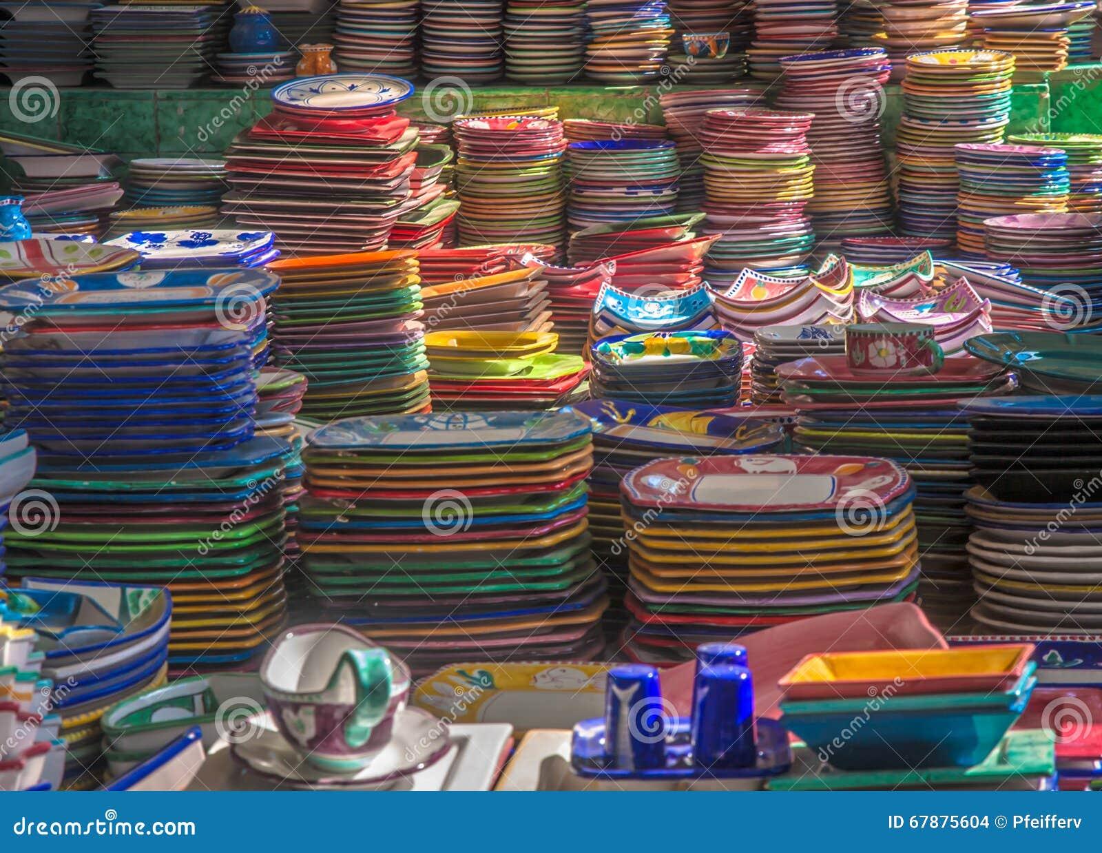 五颜六色的陶瓷板材