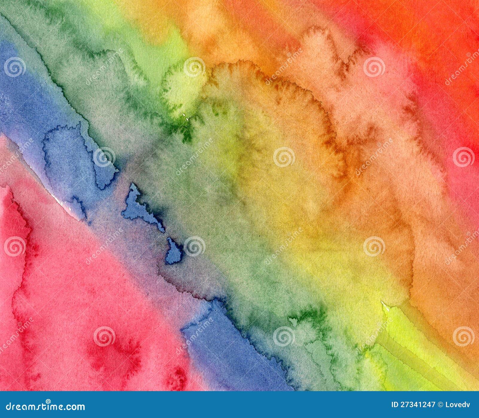 五颜六色的意思_五颜六色的水彩背景