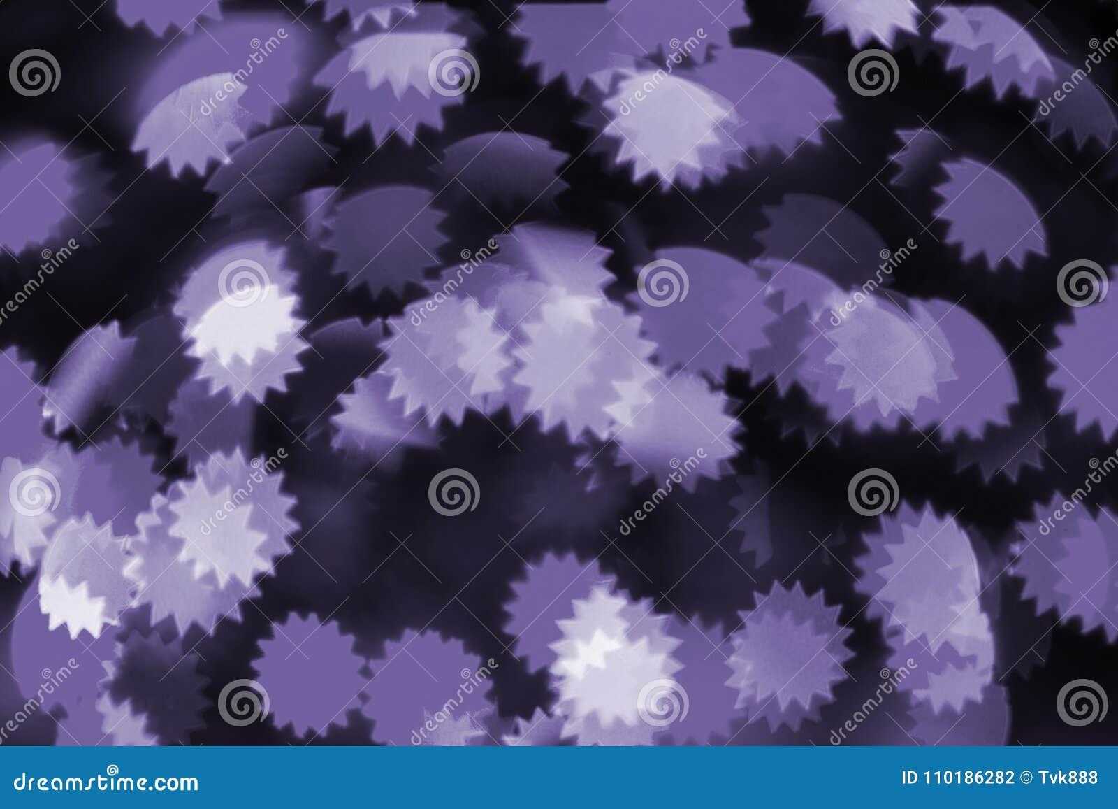 五颜六色的bokeh紫外