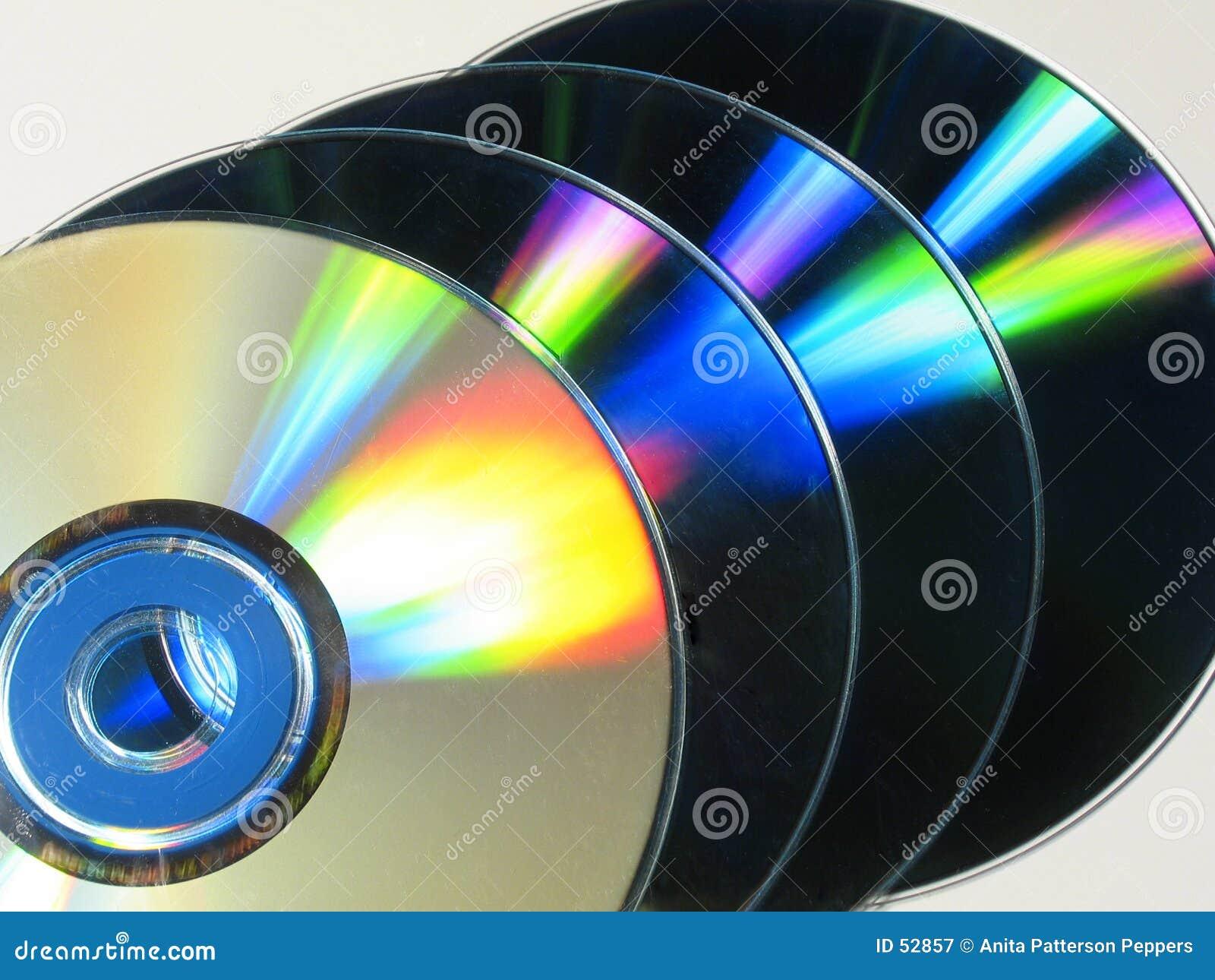 五颜六色的cds