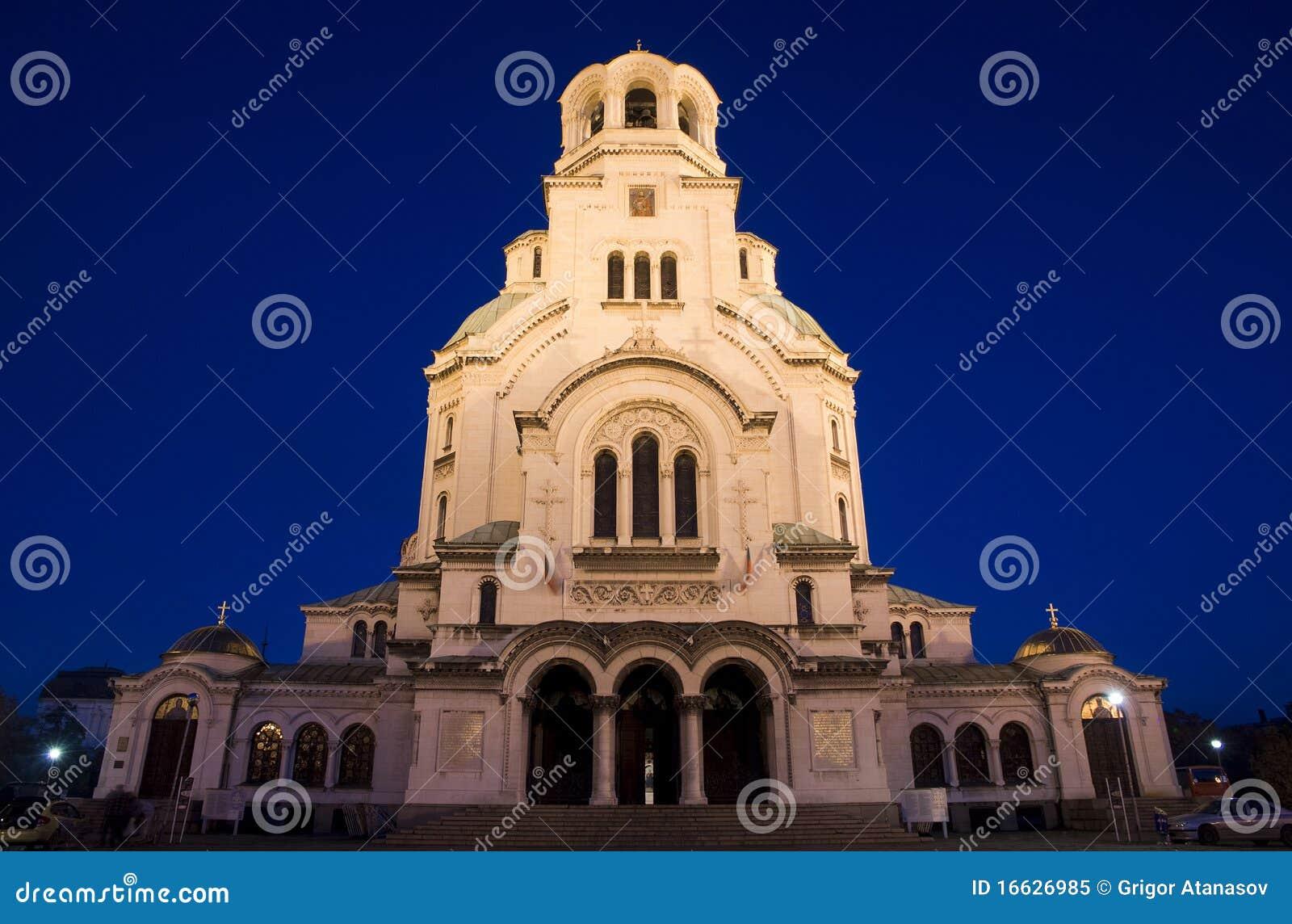 亚历山大・保加利亚大教堂nevsky索非亚