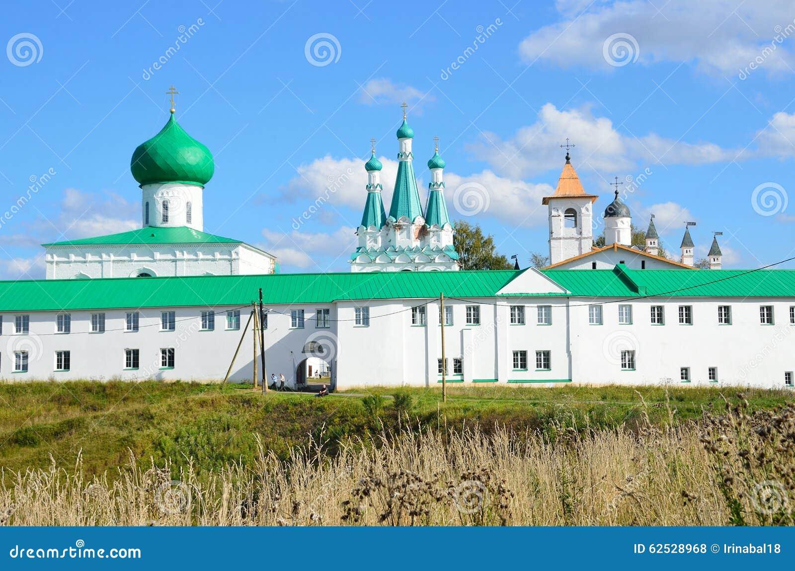 亚历山大Svirsky,俄罗斯三位一体修道院