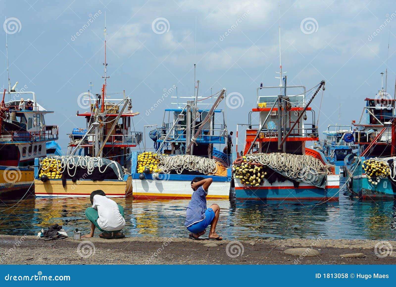 亚洲捕鱼行业端口