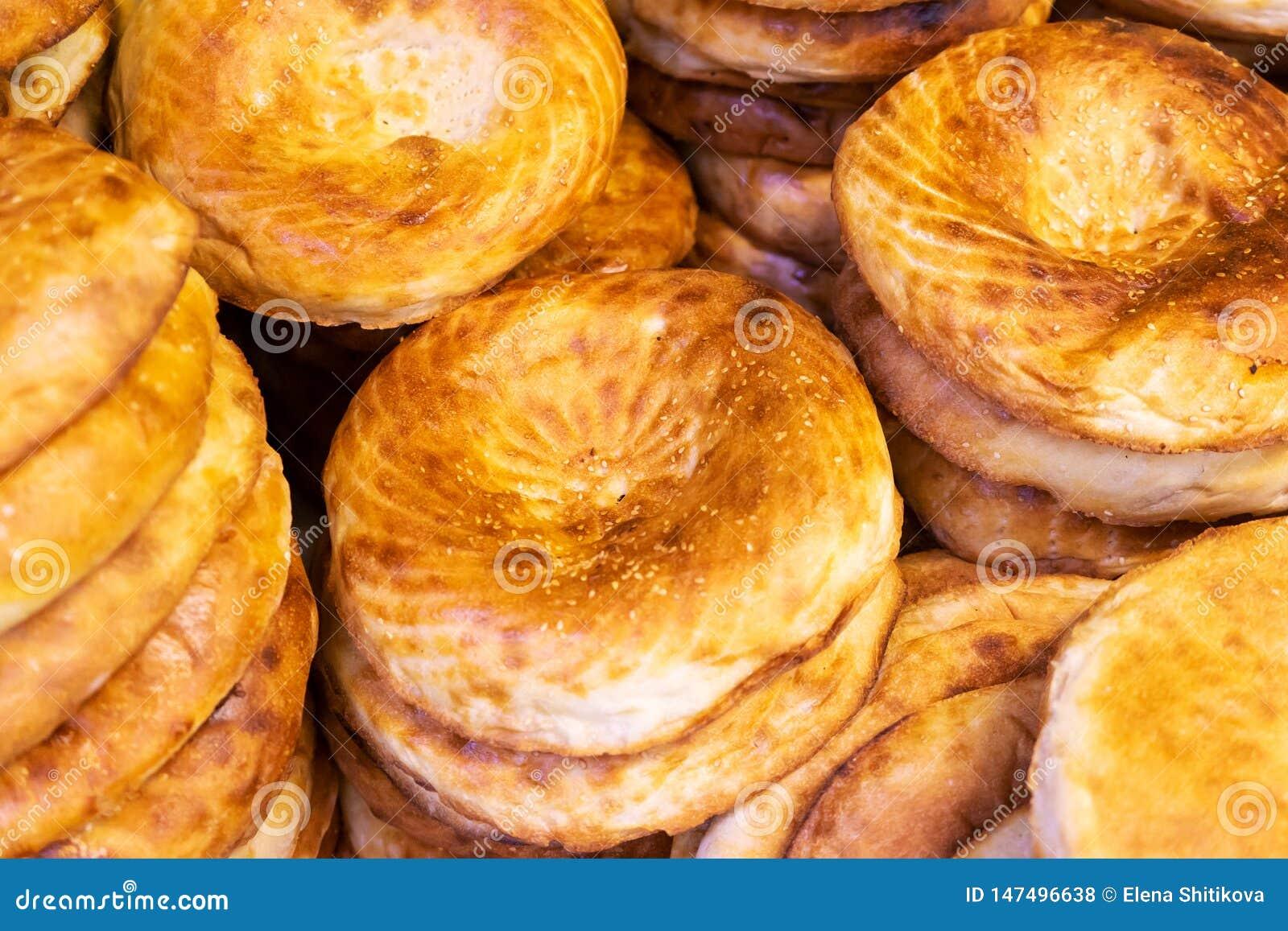 亚美尼亚皮塔饼面包新鲜面包