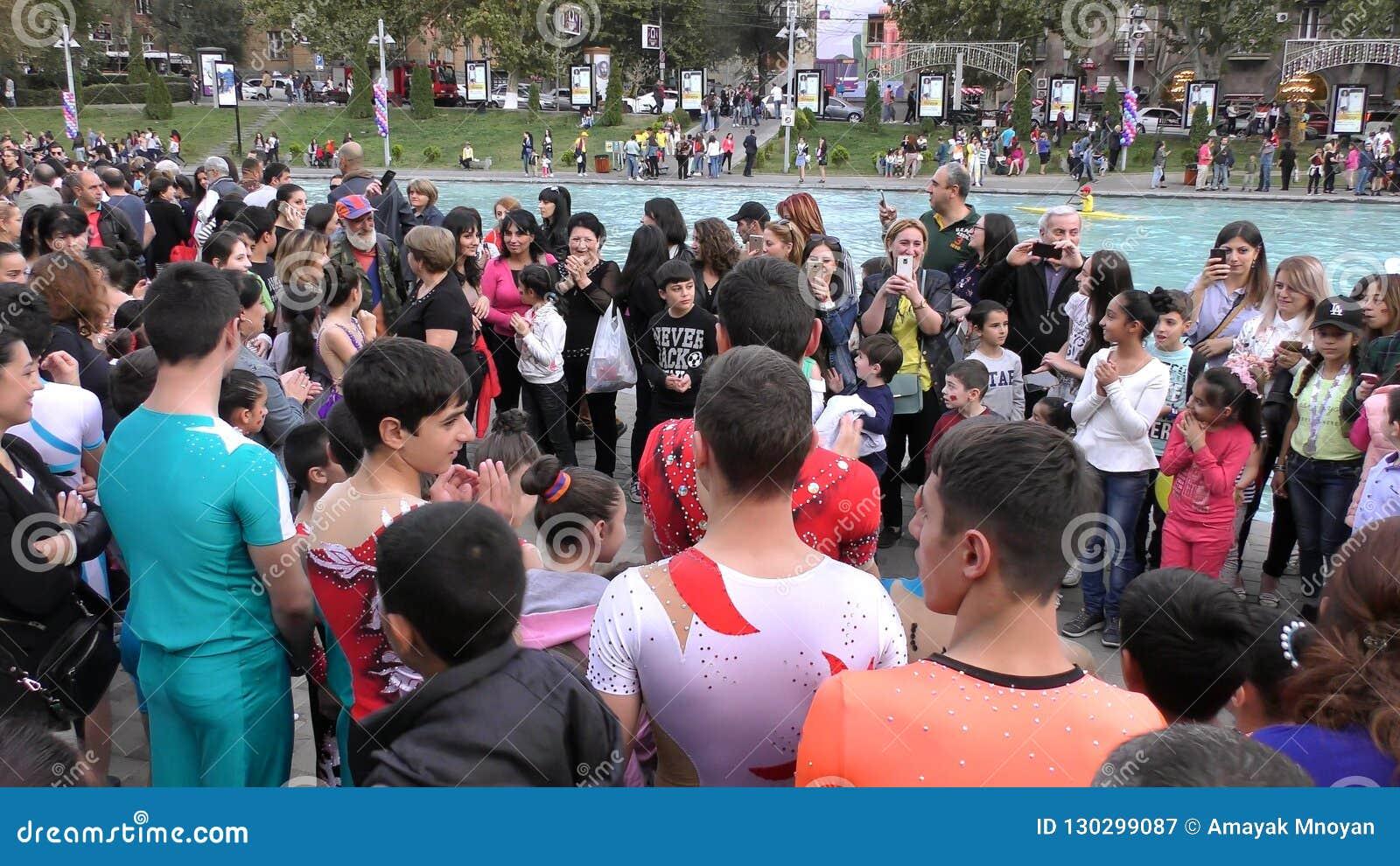 亚美尼亚,杂技在耶烈万