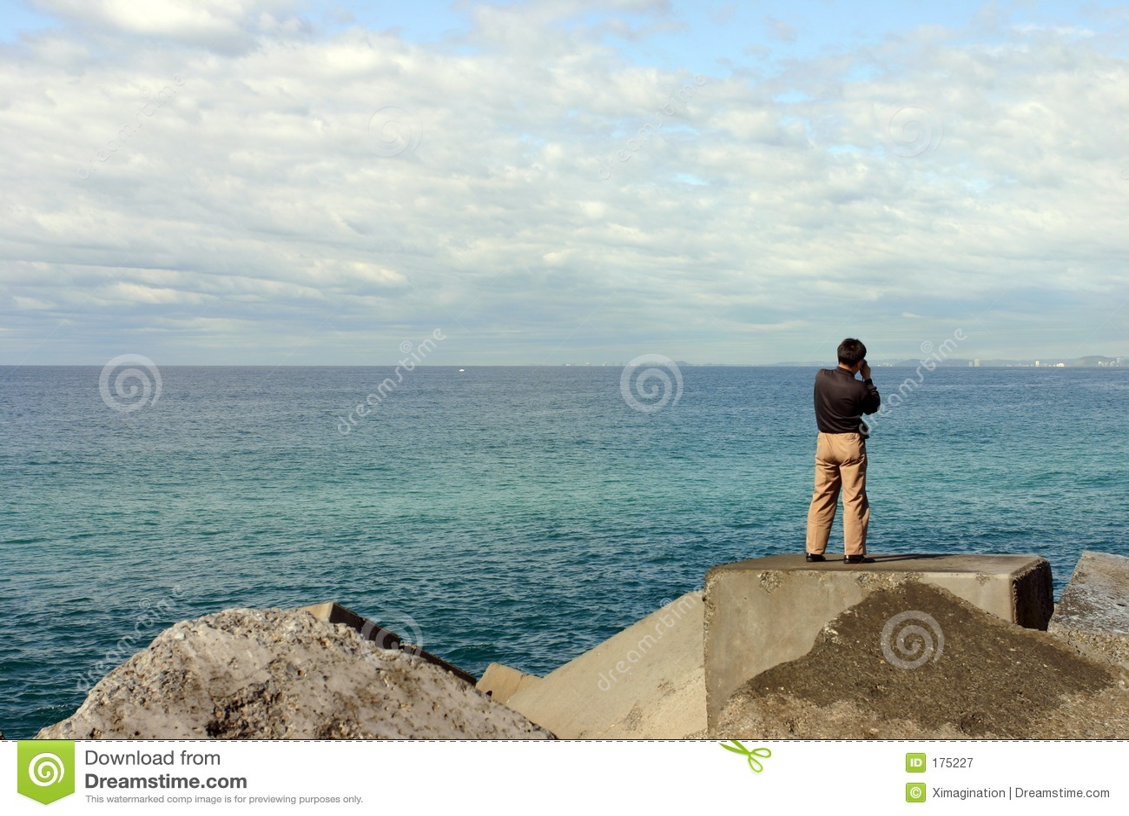 亚裔拍照游人