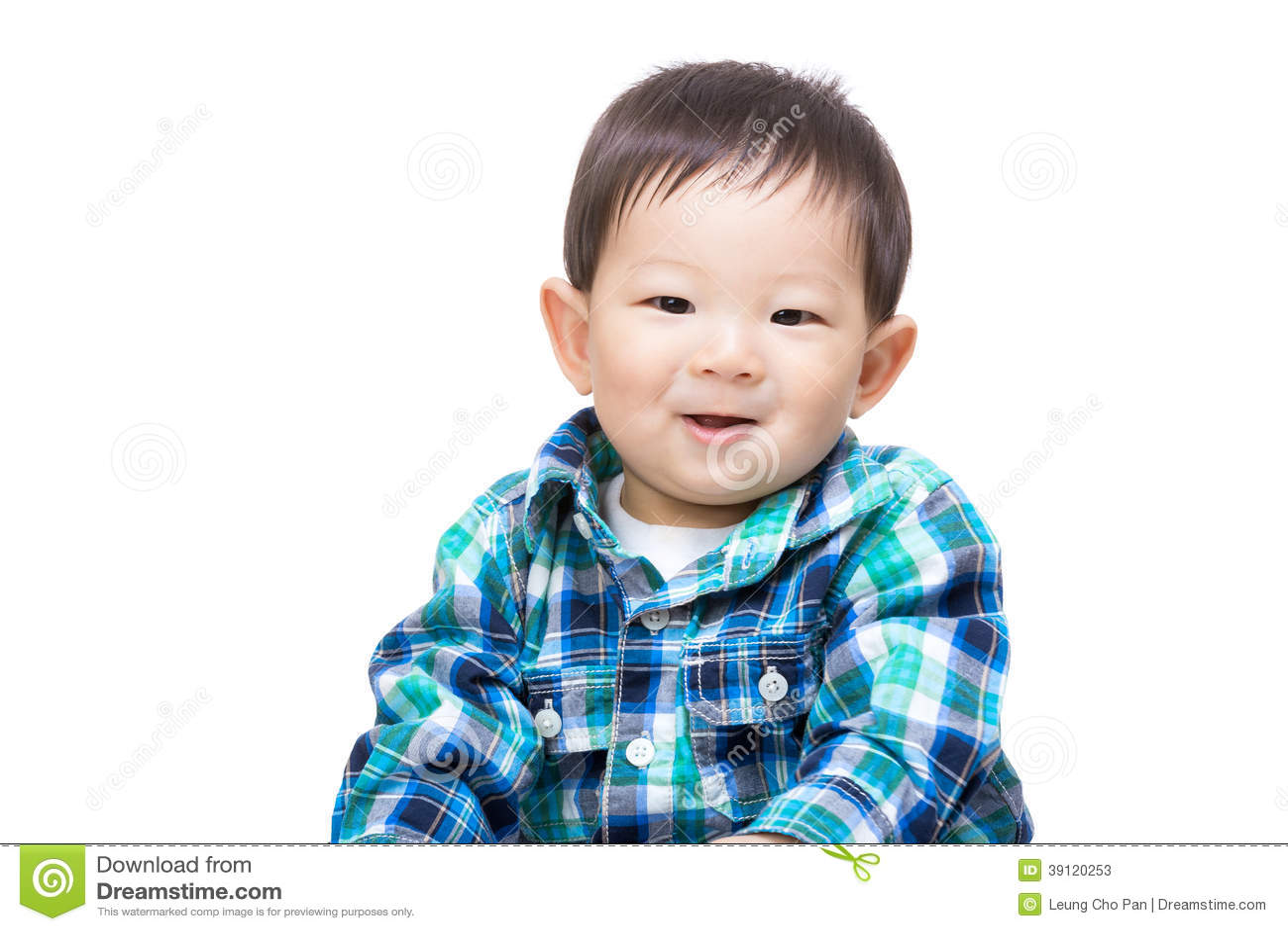 亚洲愉快男婴的感受