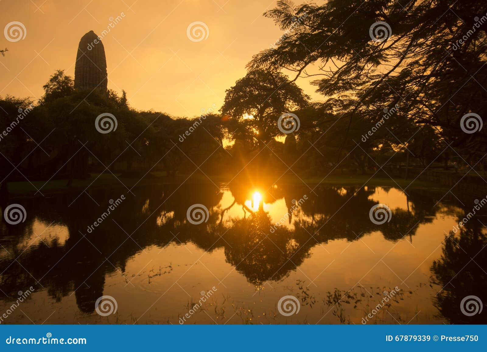 亚洲泰国AYUTHAYA历史公园