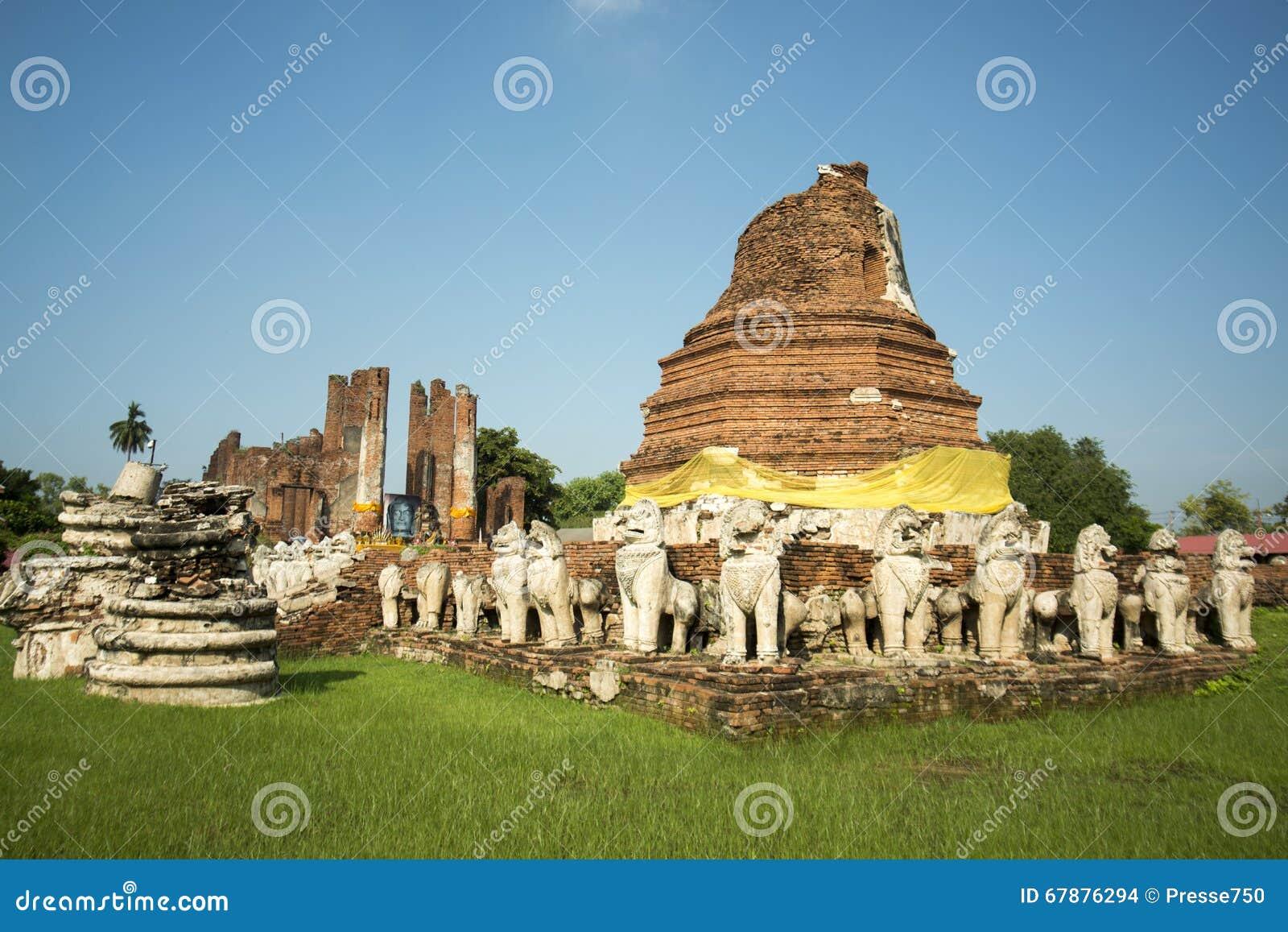 亚洲泰国AYUTHAYA WAT THAMMIKARAT