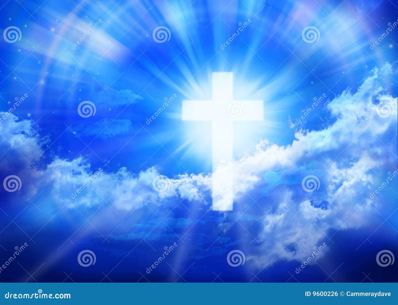 交叉天堂宗教信仰天空