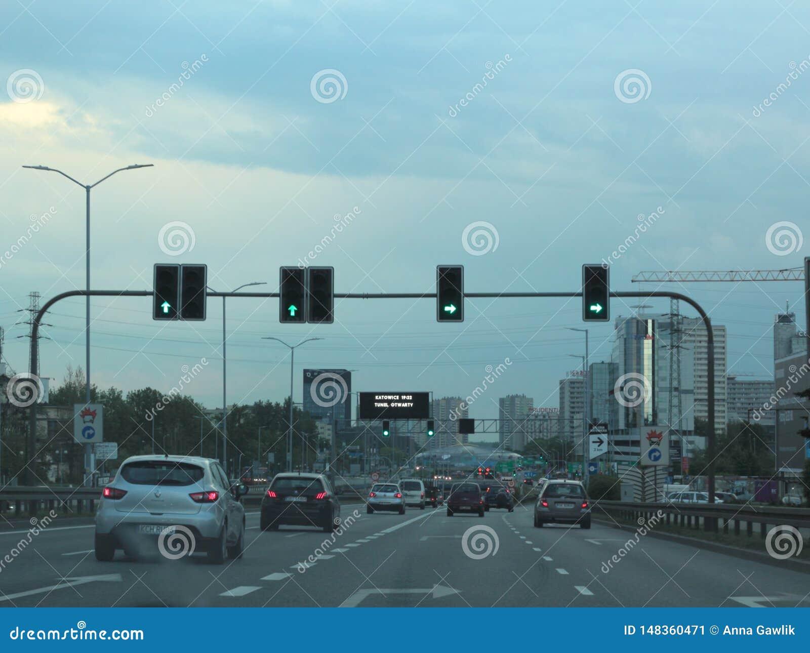 交通在卡托维兹,波兰