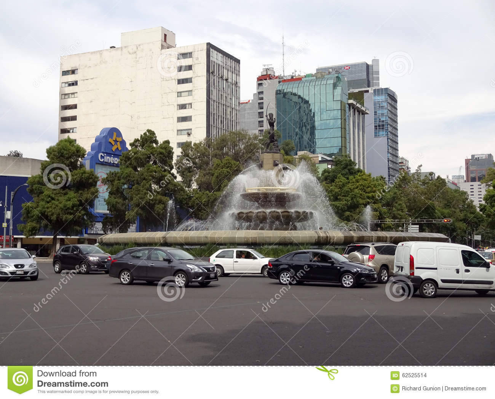 交通在街市墨西哥城