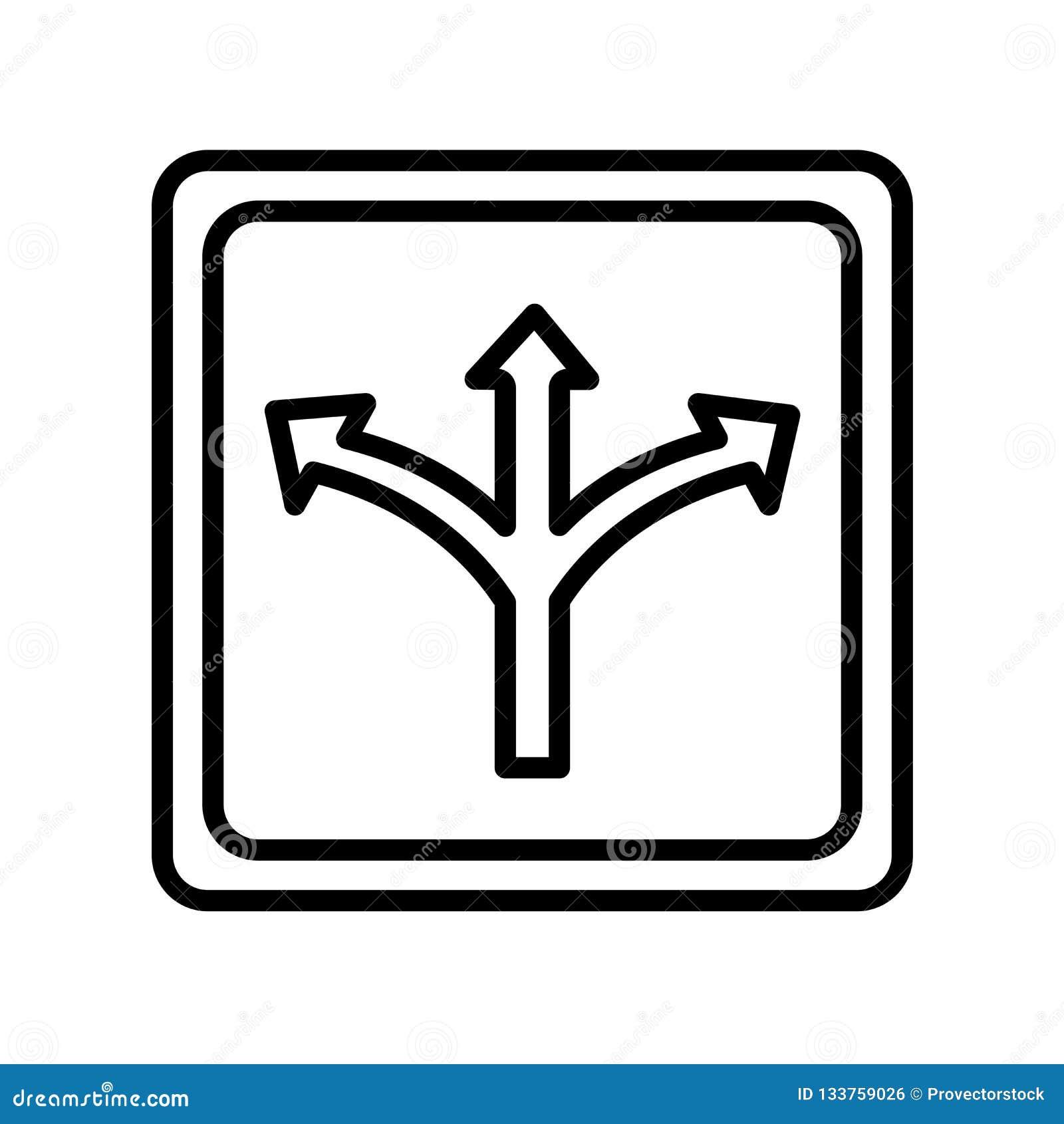 交通标志象在白色backg和标志隔绝的传染媒介标志