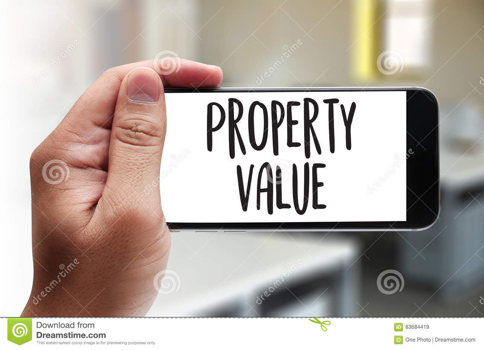 财产价值,商人财产价值,适当的房地产
