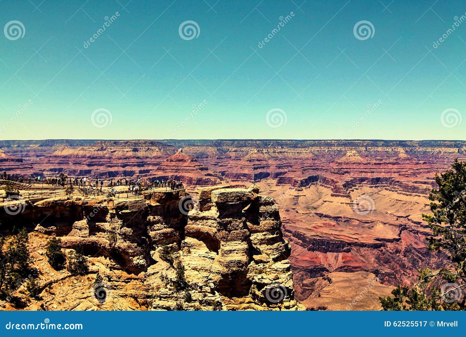 享受大峡谷视图