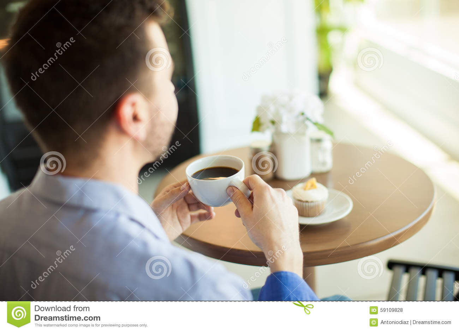 享用由我自己的咖啡