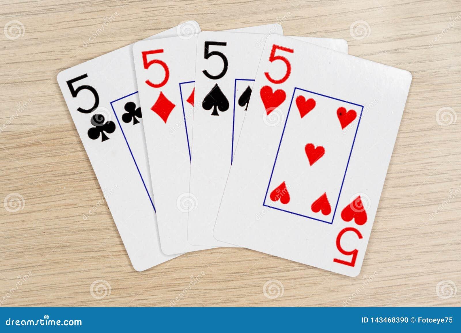 4亲切的fives 5 -打啤牌牌的赌博娱乐场