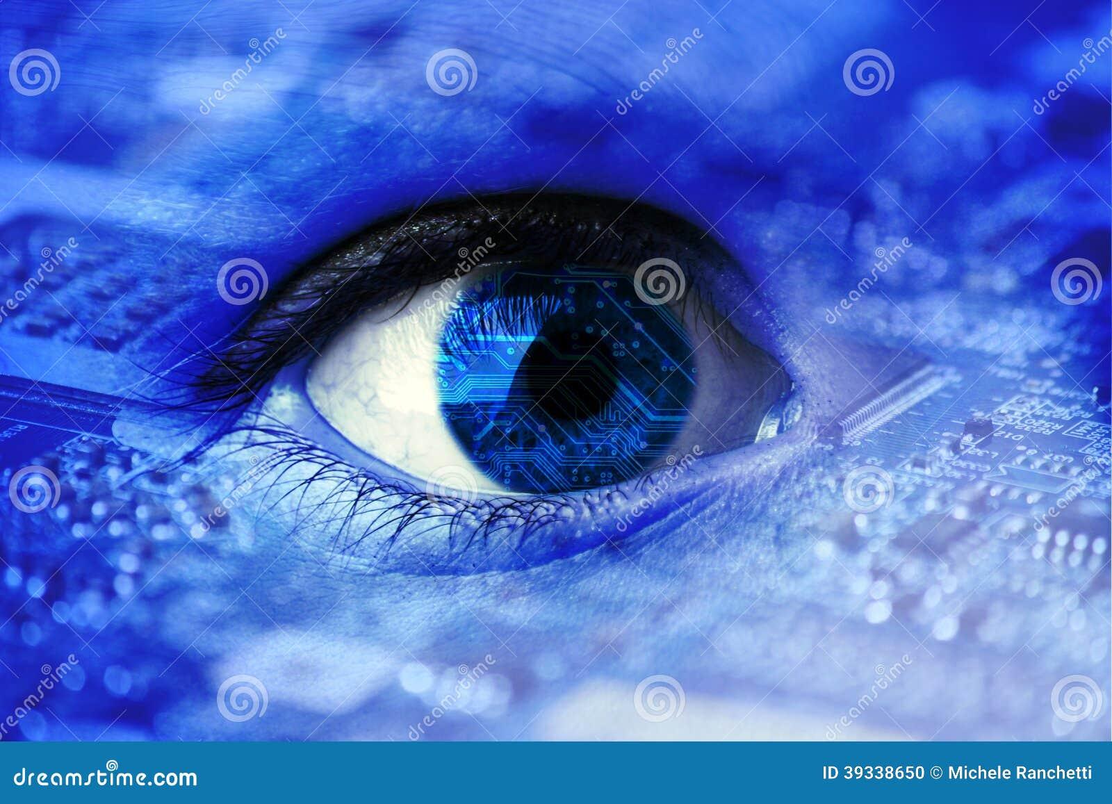 人为或利用仿生学的眼睛