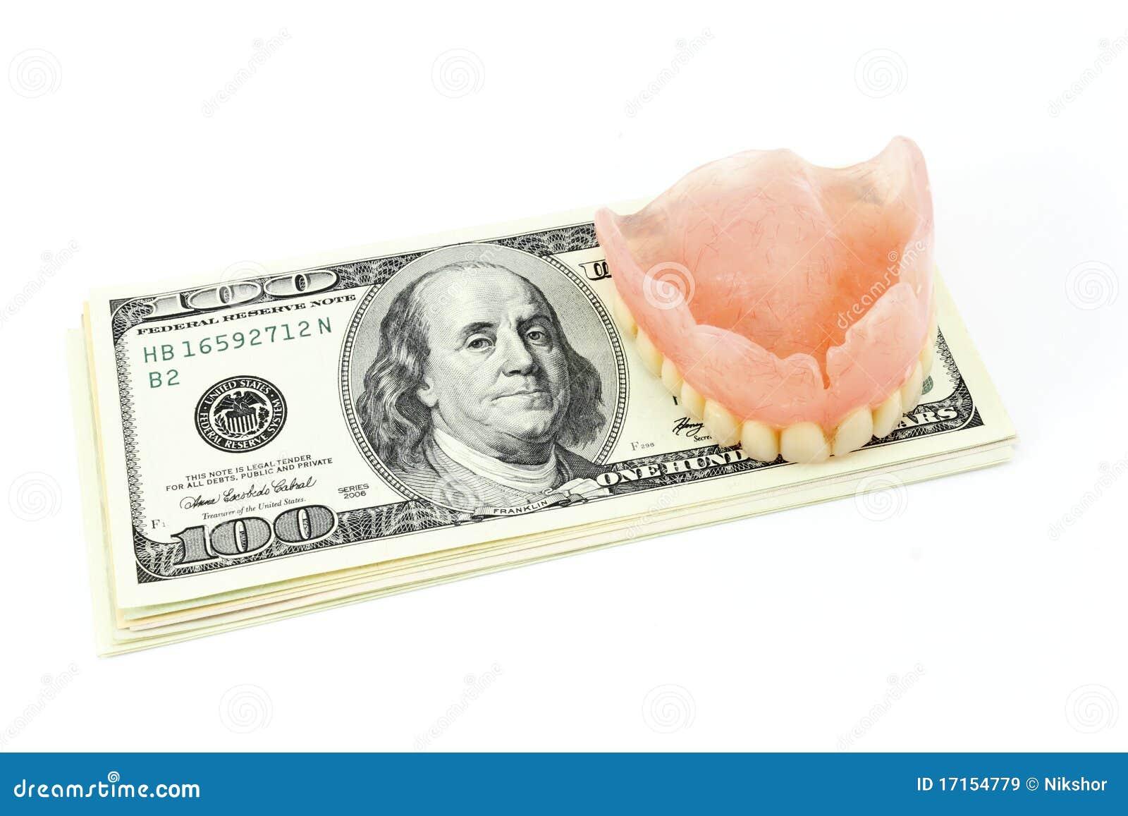 人为牙齿美元肢体