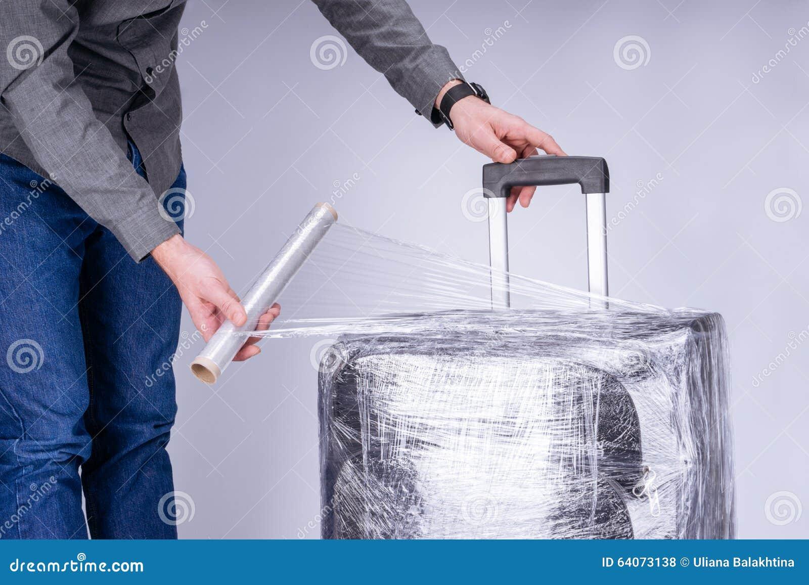 人包裹手提箱保护胶卷