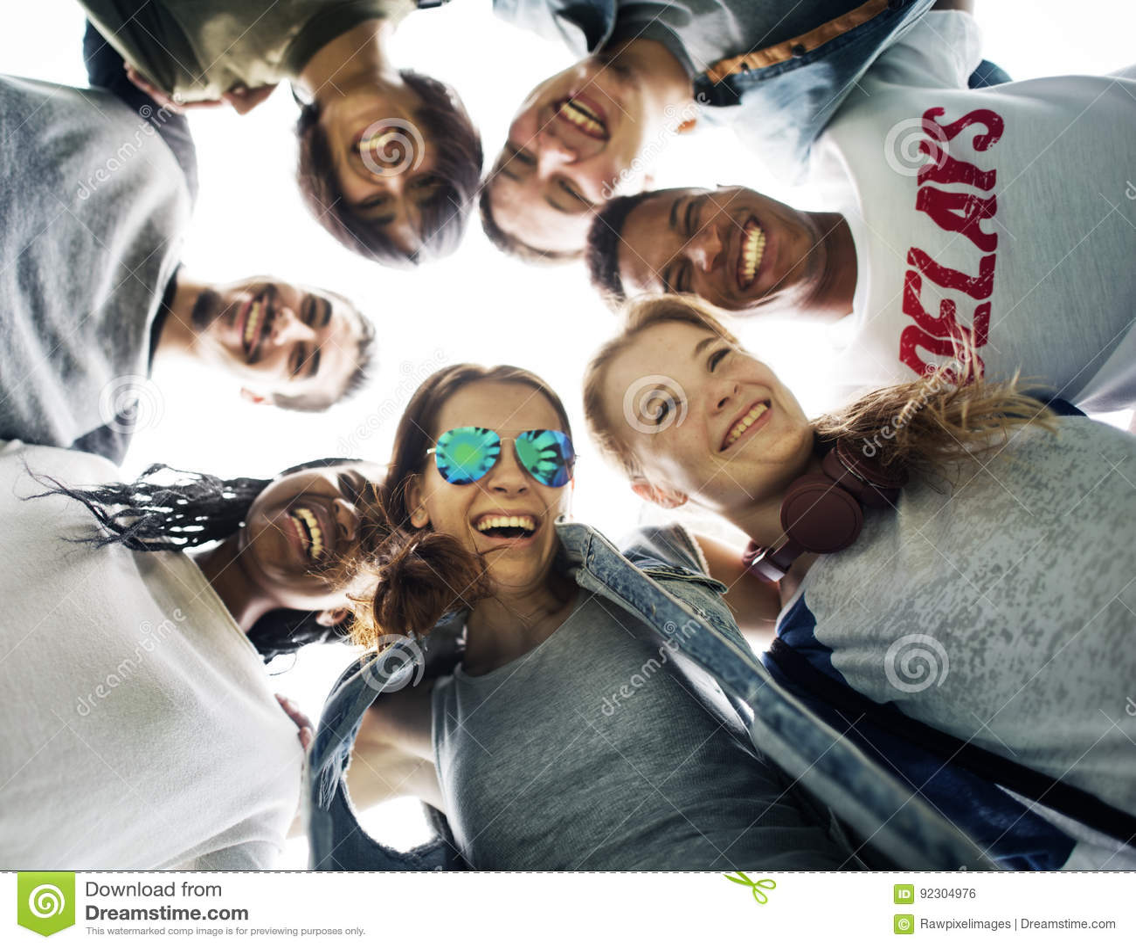 人友谊统一性杂乱的一团队团结概念