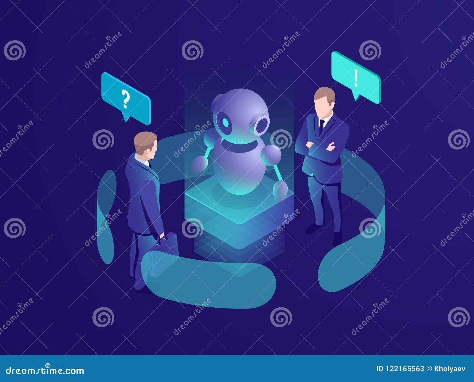人工智能ai机器人给推荐,人从chatbot,商务咨询得到自动回应