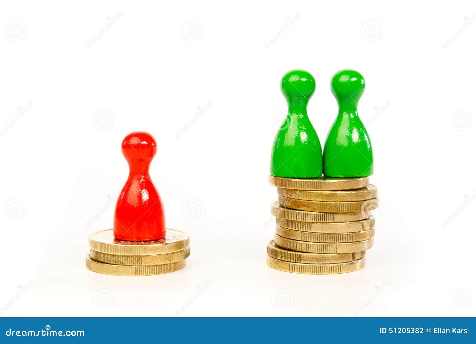 人有在收入上的区别