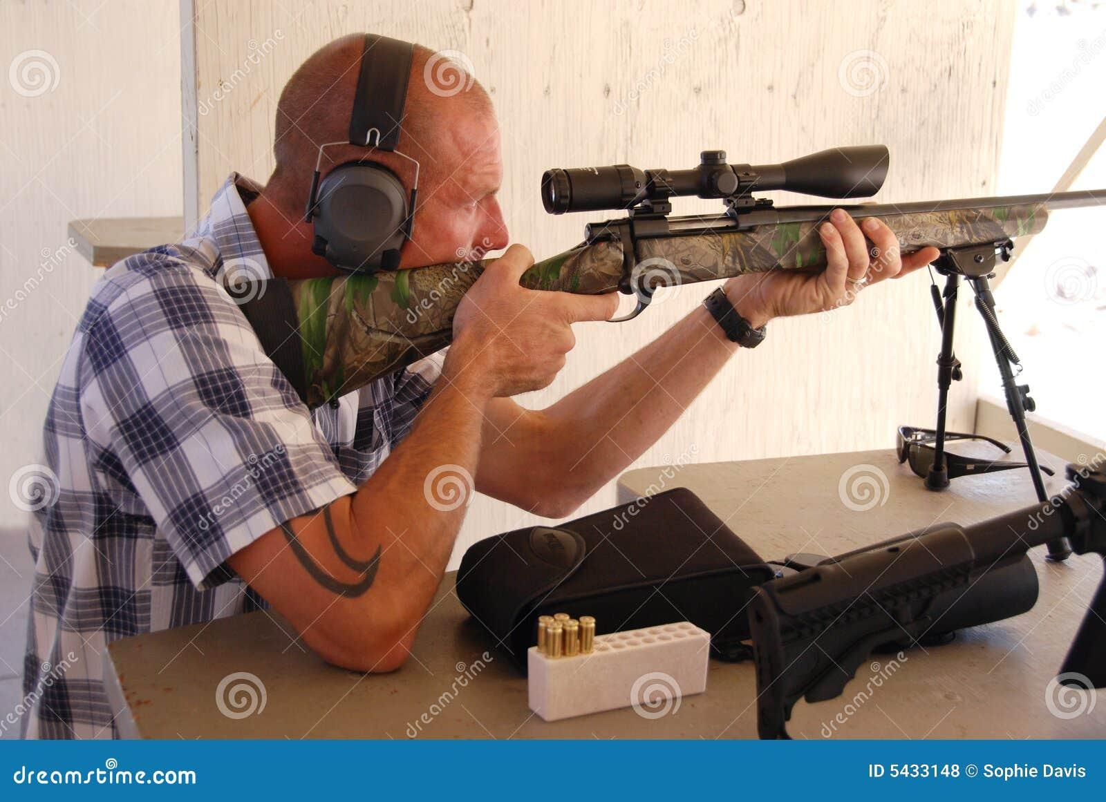 人步枪射击狙击手