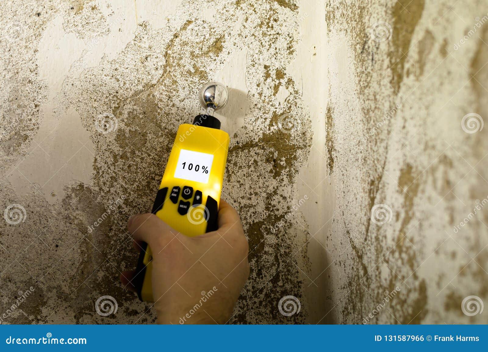 人测量湿气