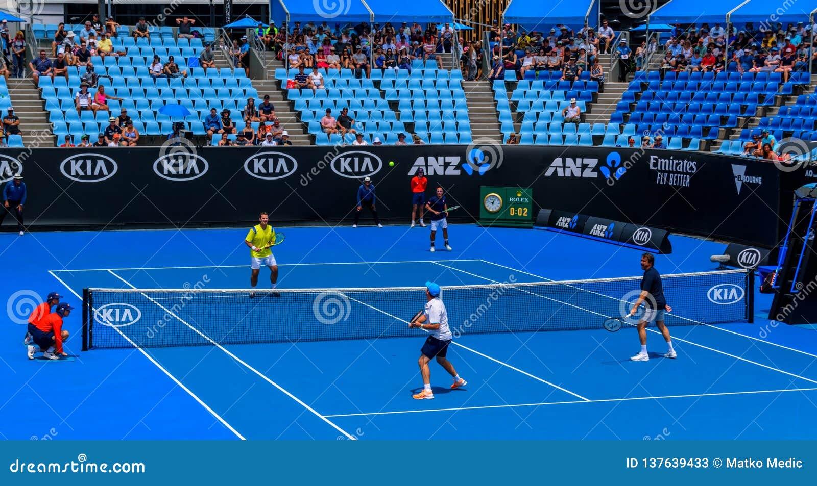 人的传奇网球比赛,澳大利亚公开赛2019年