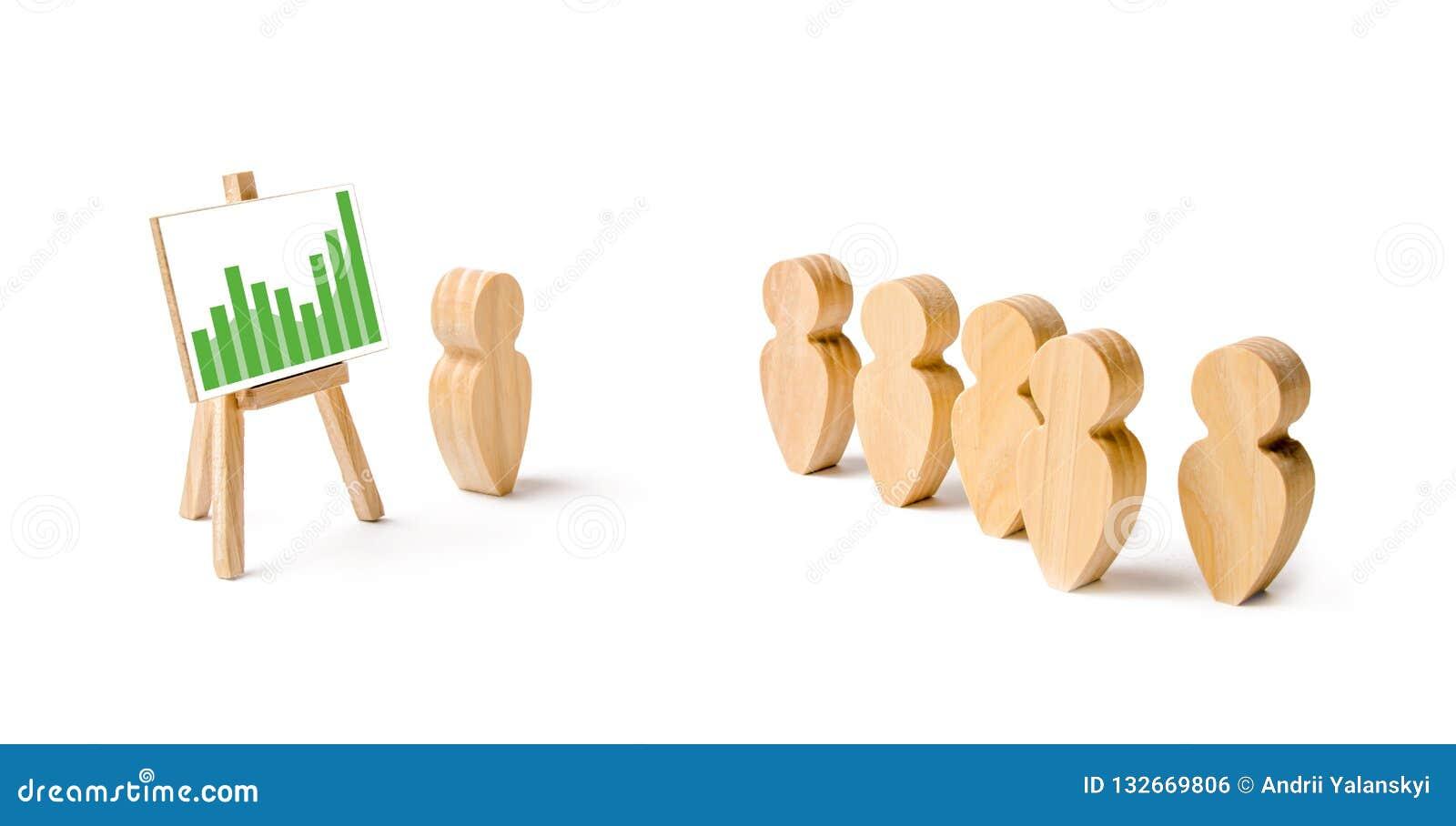 人立场木图在形成的和听他们的领导 企业训练、简报和激动人心的讲话