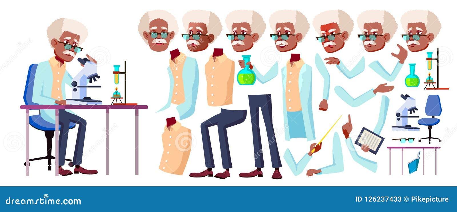 人老向量 投反对票 美国黑人 资深人画象 老年人 年龄 动画创作集合 表面