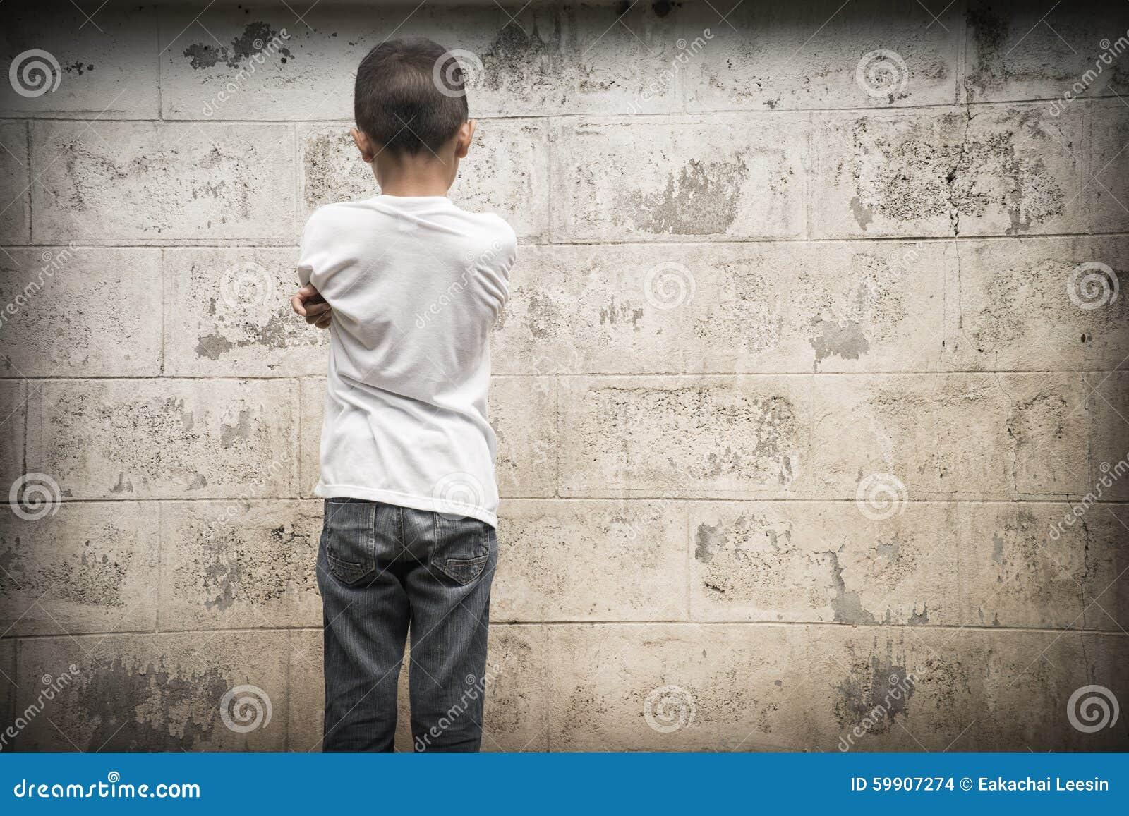 人身诬蔑,孩子害怕和单独