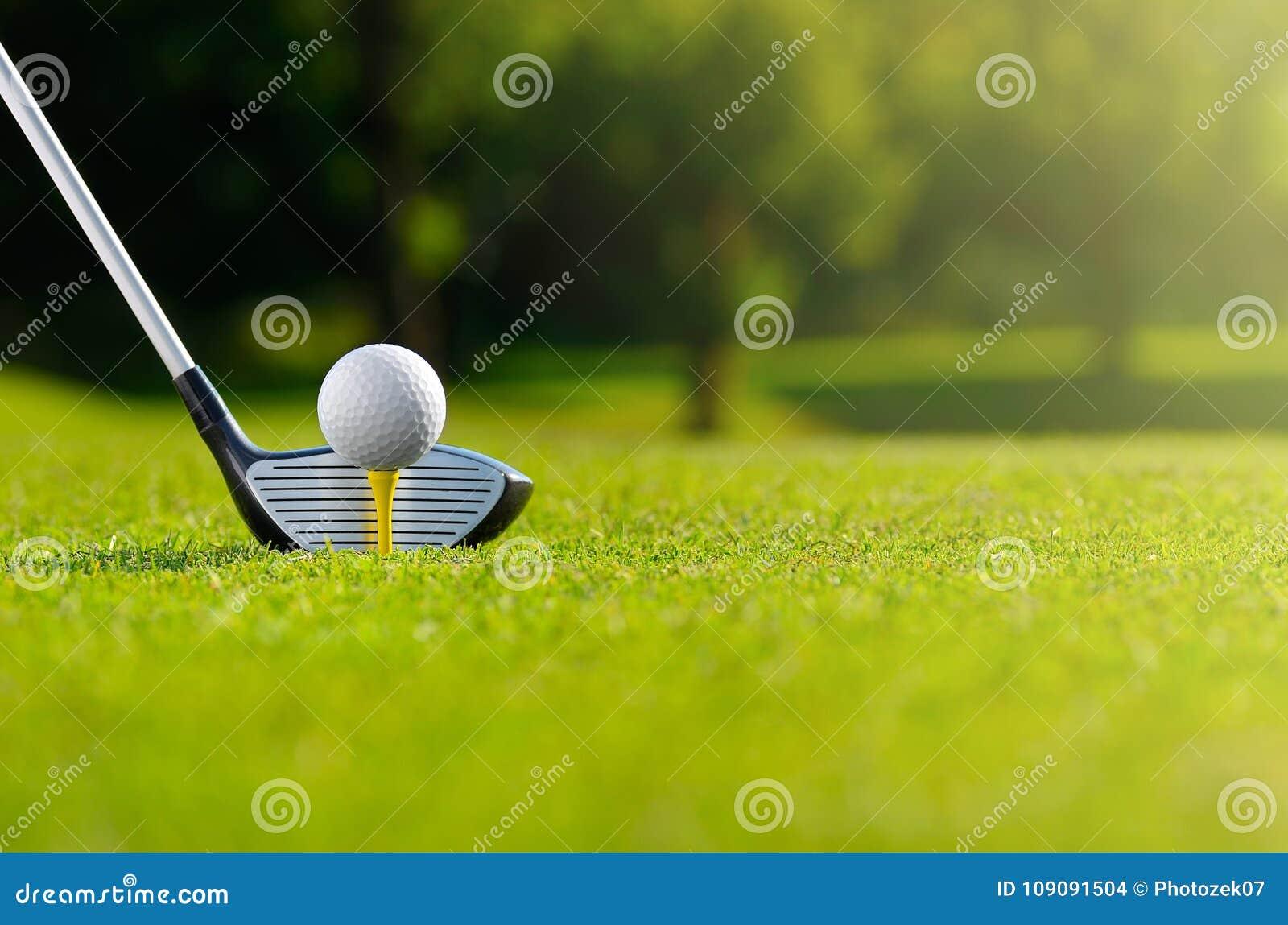 今天让` s高尔夫球