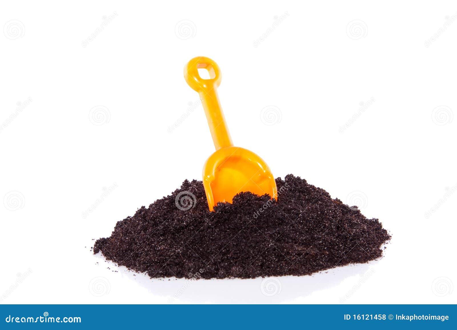 从事园艺的土壤工具