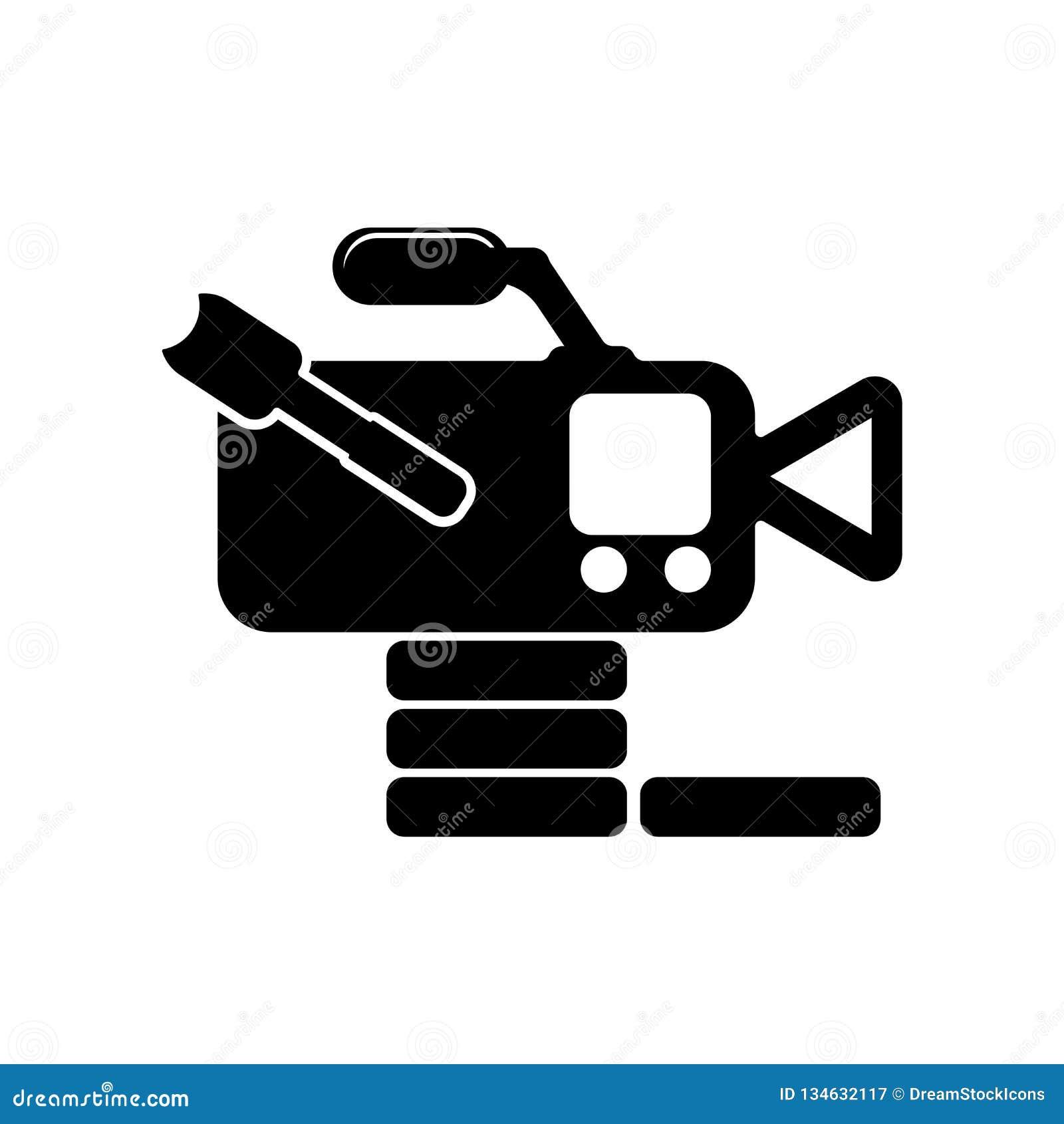 从侧视图象传染媒介标志和标志的摄象机被隔绝的