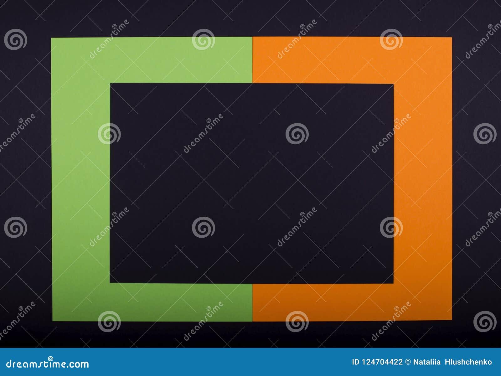 从做的万圣夜设计五颜六色的纸手工造的假日框架 为yout文本复制