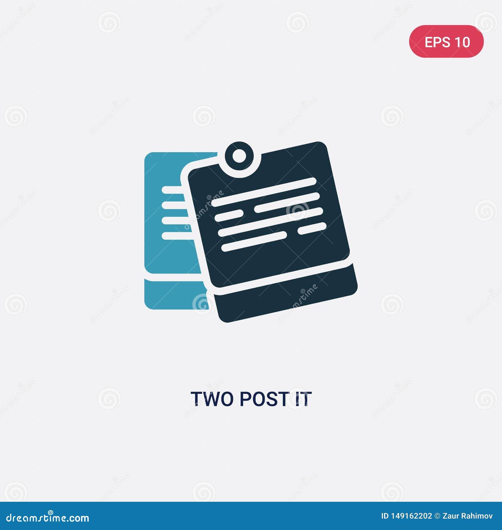 从其他概念的两种颜色的两个柱子传染媒介象 被隔绝的蓝色两个柱子传染媒介标志标志可以是网的用途,流动和