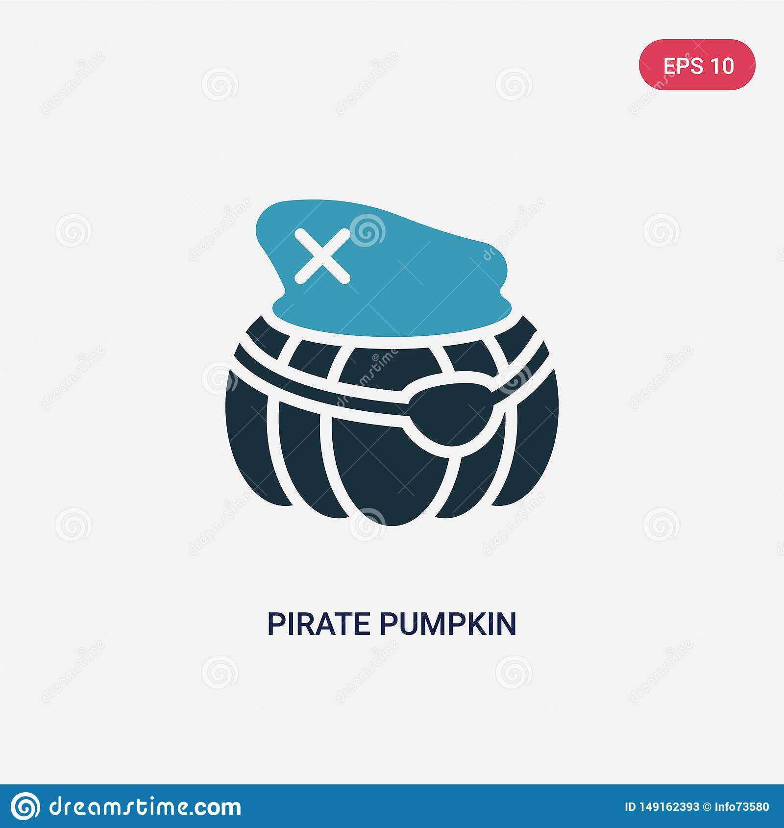 从其他概念的两种颜色的海盗南瓜传染媒介象 被隔绝的蓝色海盗南瓜传染媒介标志标志可以是网的用途,