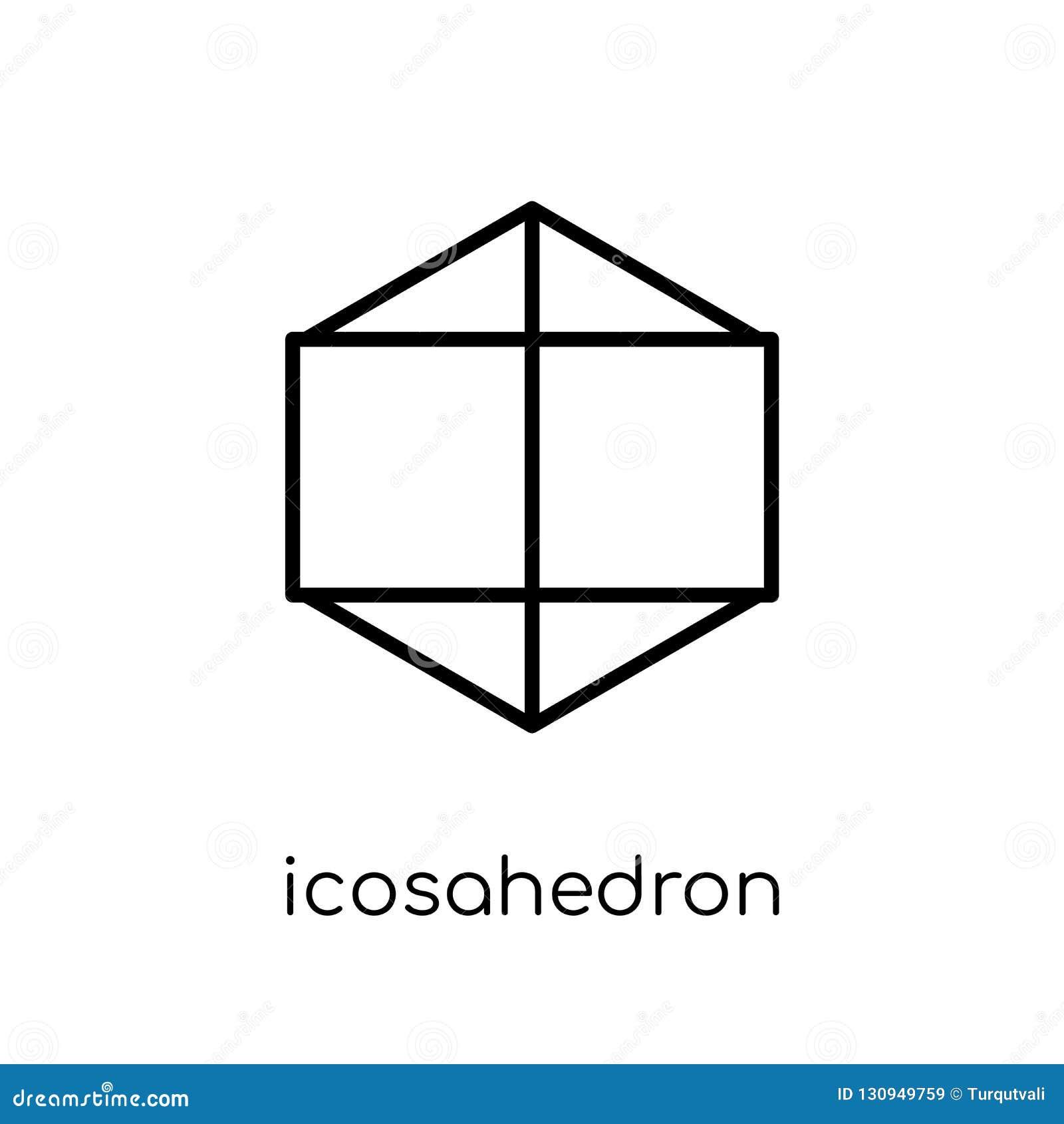 从几何汇集的二十面体象