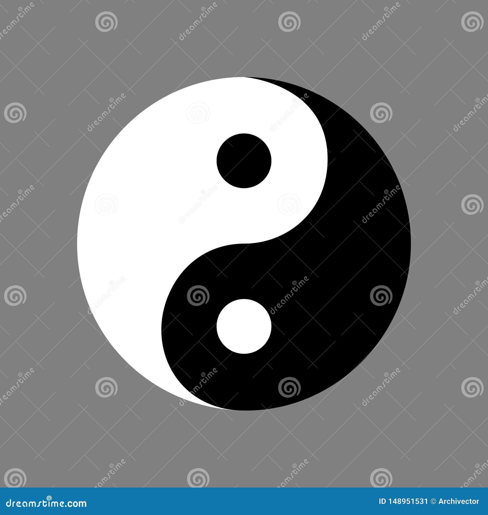 从古老中国哲学的阴山杨标志