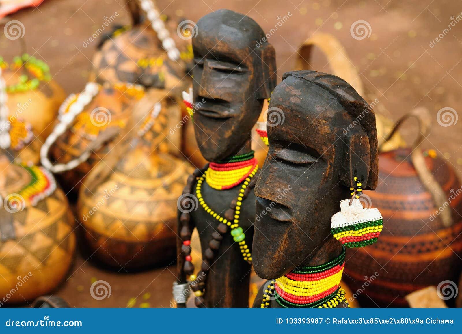 从埃塞俄比亚,非洲图腾的纪念品