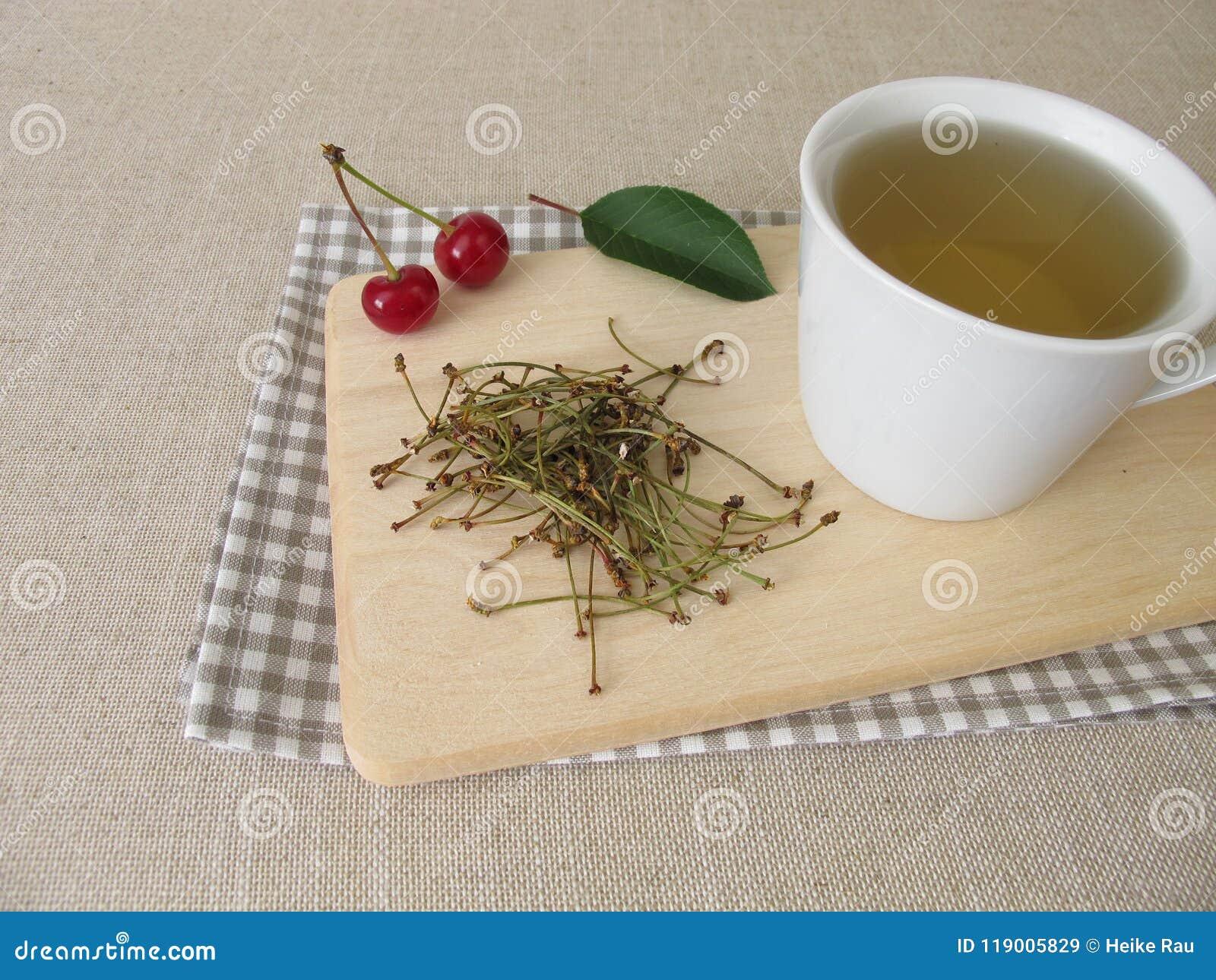 从樱桃词根的茶
