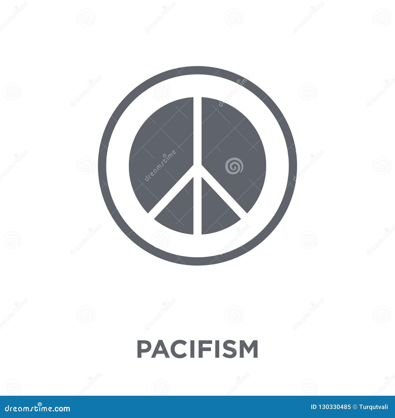 从汇集的和平主义象